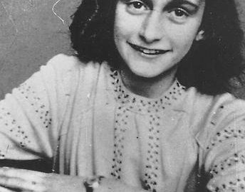 This is an undated photo of Anne Frank from the Anne Frank Center, USA.  (AP Photo)